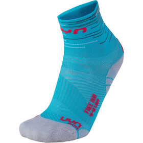 UYN Free Run Calcetines Mujer, turquoise/coral